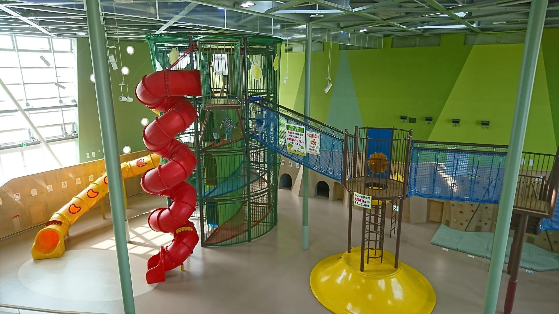 天童市のげんキッズを徹底レポ|室内の無料遊び場では県内最強!?