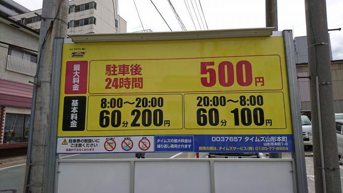 日本一さくらんぼ祭り_駐車場