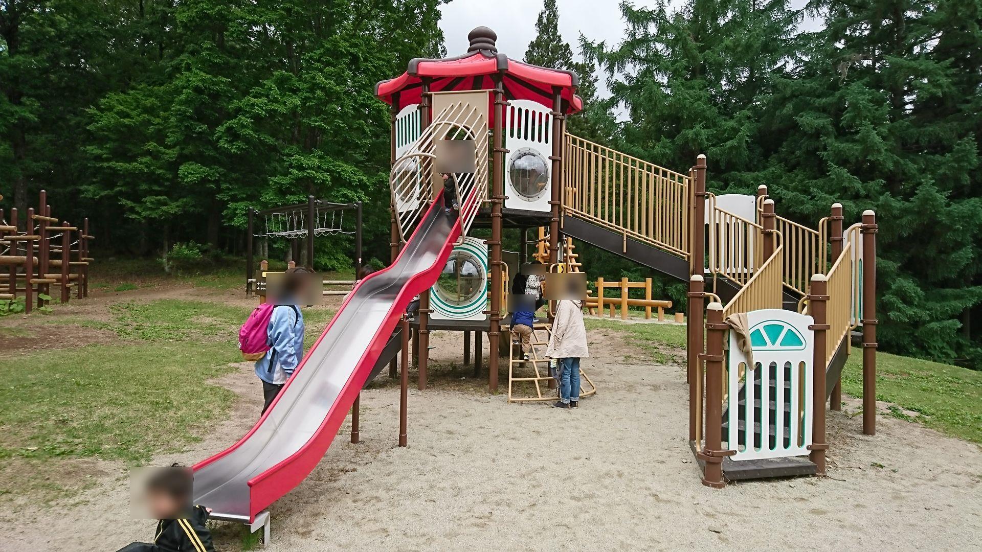 【西蔵王公園の森の広場は小学生におすすめ!】全身を使って遊ぼう!