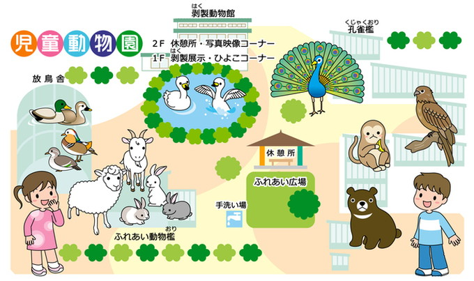 河北児童動物園_マップ