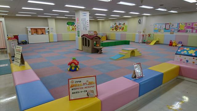 新庄市わらすこひろばの乳幼児コーナー1