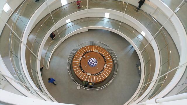 産業科学博物館らせん階段