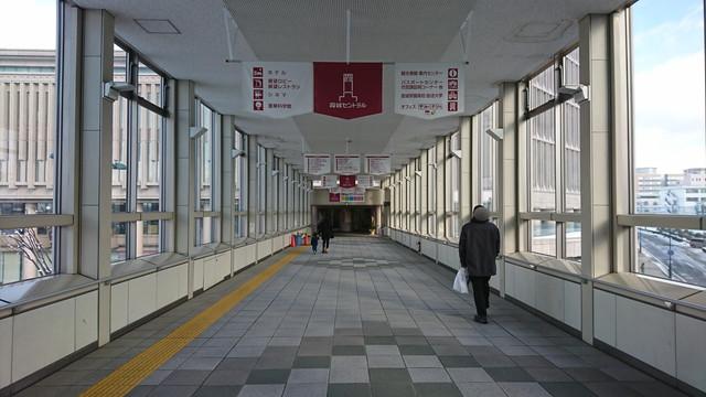 山形駅から産業科学博物館への道