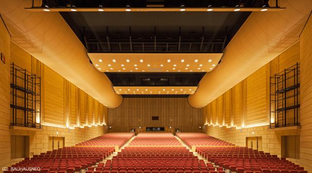 シェルターなんようの大ホールの写真
