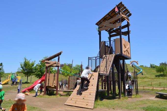 最上川ふるさと総合公園-大型遊具2