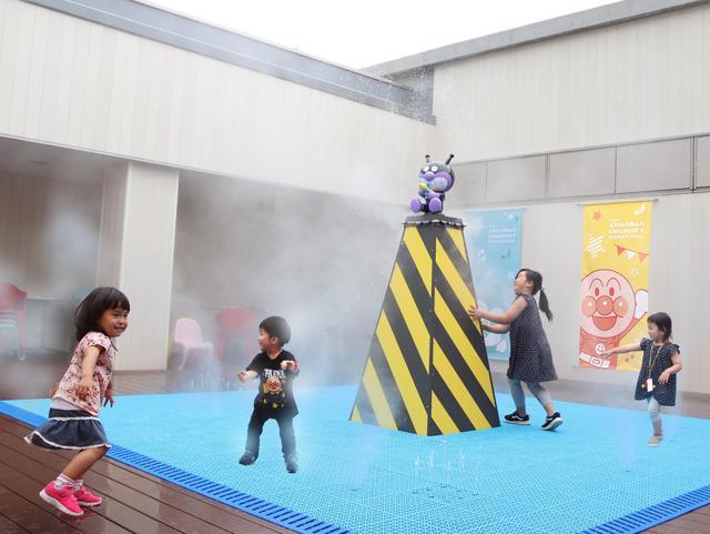仙台アンパンマンミュージアム-ばいきんまんの水あそび広場-HP画像