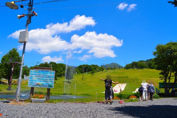 蔵王猿倉で夏を満喫!|釣り、夏そり、ビーチバレー、水遊びを楽しもう