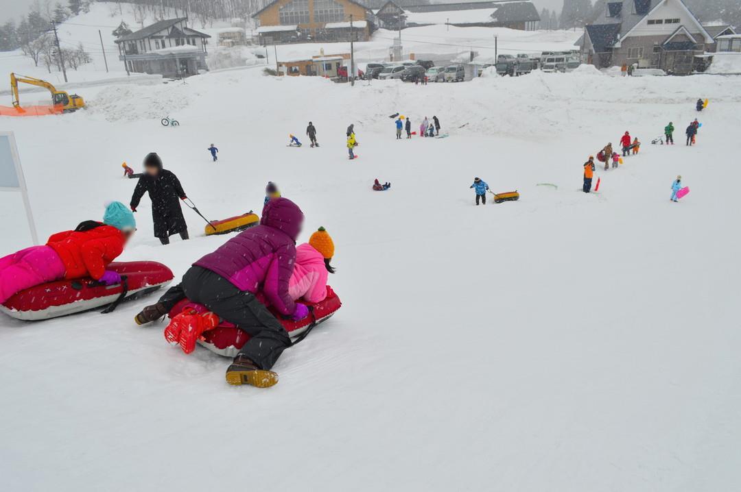 徳良湖スノーランド-雪山エリア-上級者コースの様子1