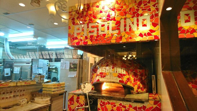菜園ブッフェピソリーノ-店内の様子-ピザ窯