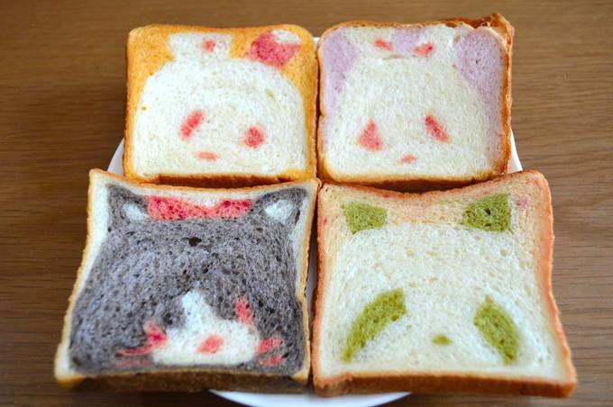 かわいい動物パンの店-shou-shou(シュシュ)-かわいい食パン