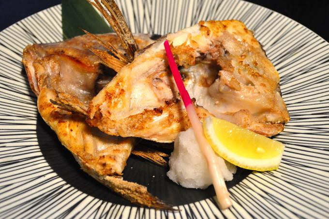 魚きがるに-注文品-本日のカマ焼き-鯛1_01