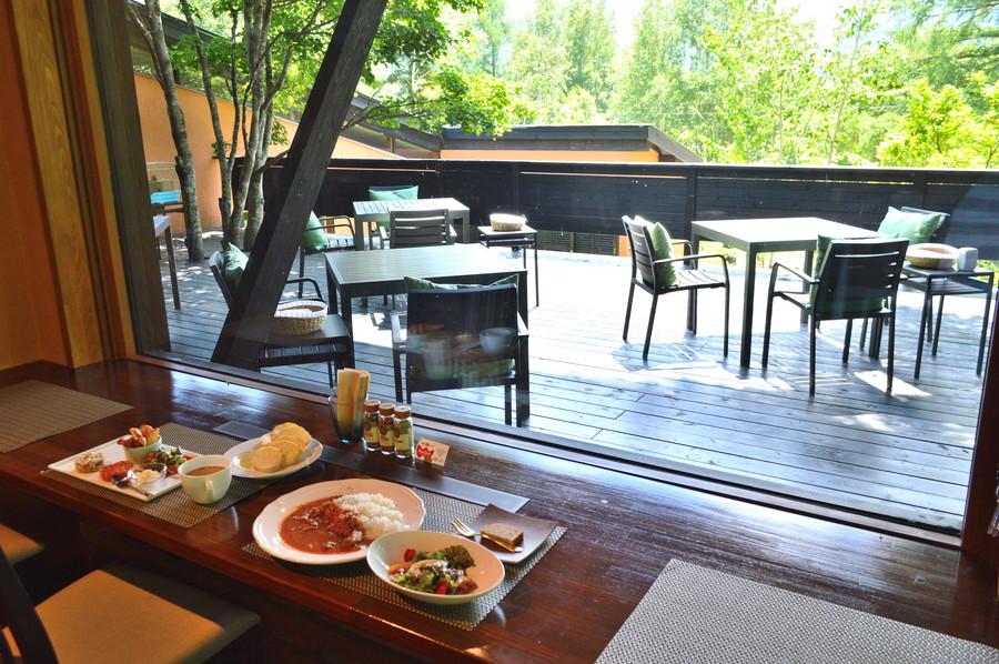 【カフェレポ】ユニテカフェ(山形蔵王温泉)|訪れるたびに景色が変わる万華鏡のようなリゾートカフェ