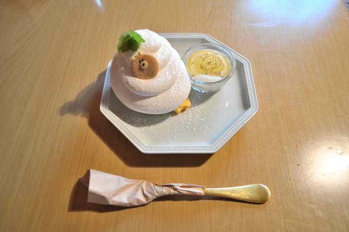カフェ豆の木-注文-シフォンケーキ1