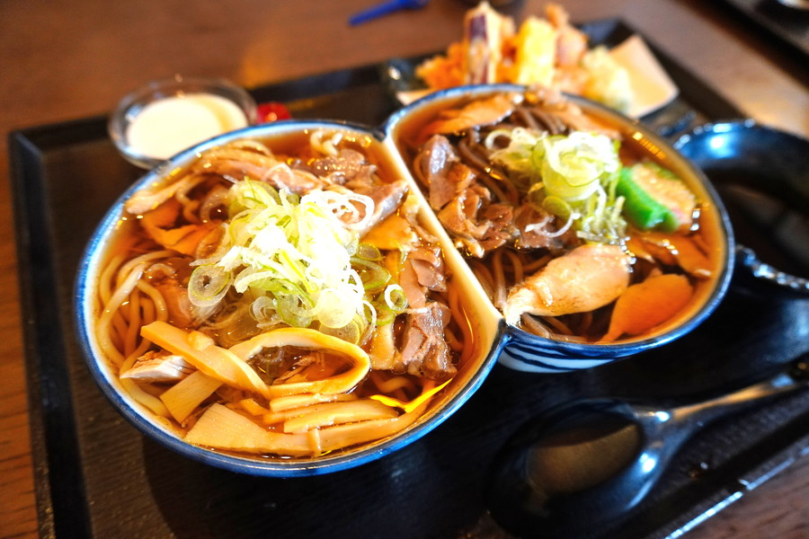 肉そば舞鶴-食レポ-舞鶴セット2-4