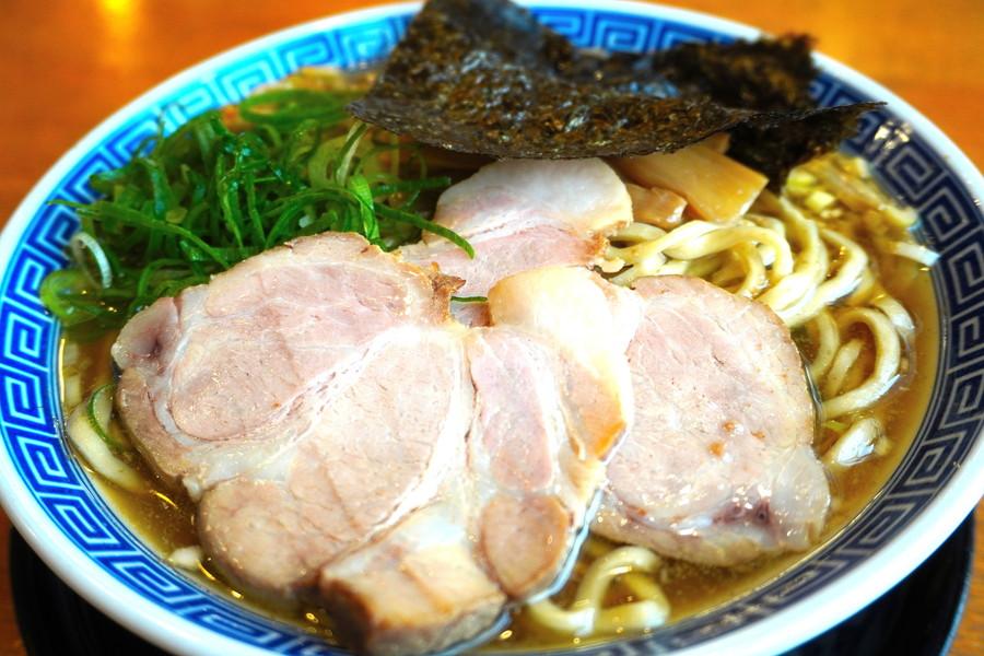 麺屋春馬-食レポ-煮干し中華そば