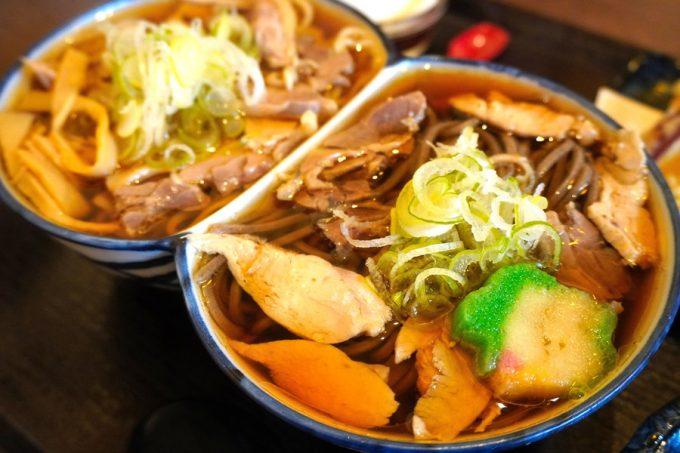 肉そば舞鶴-食レポ-舞鶴セット2-3