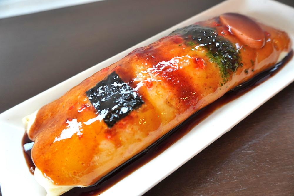どんどん焼いわい-食レポ-チーズどんどん焼き2