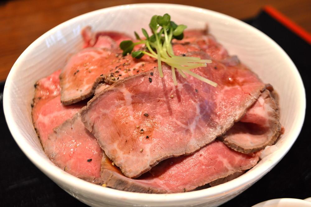 もみいち食堂-食レポ-ローストビーフ丼2