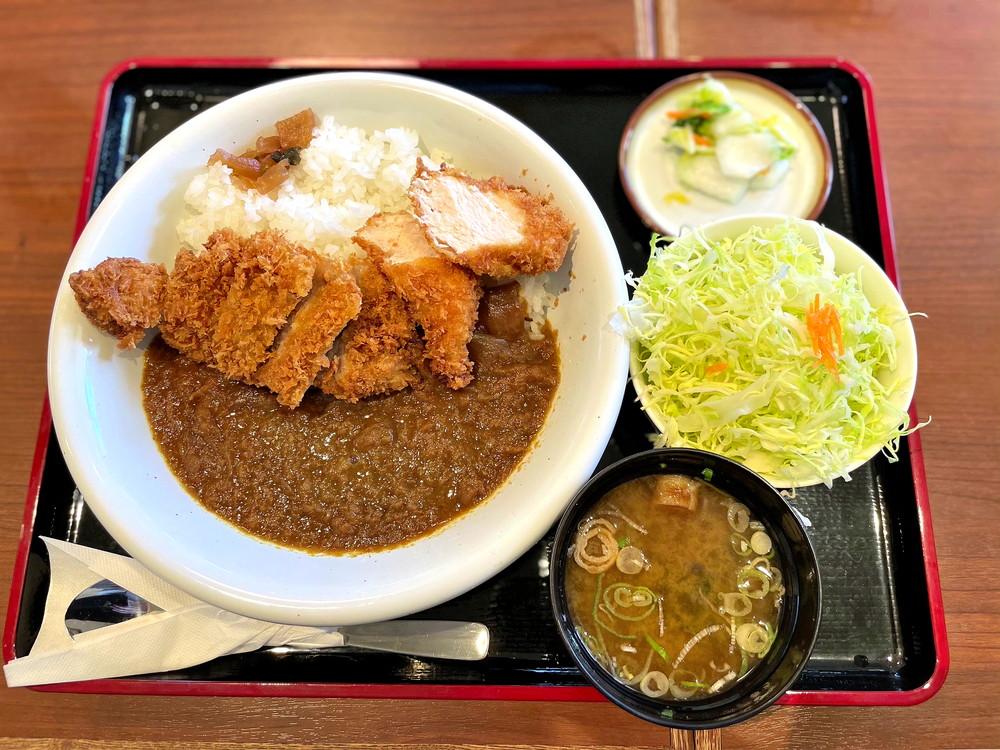 とん八山形北インター店-食レポ-とんかつプラス若鶏カレーランチ1