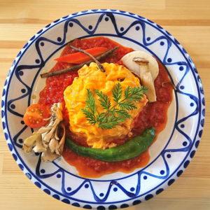 【食レポ】ナチュラルカフェ(山形市松波) 地元野菜にこだわった畑のごちそうランチ