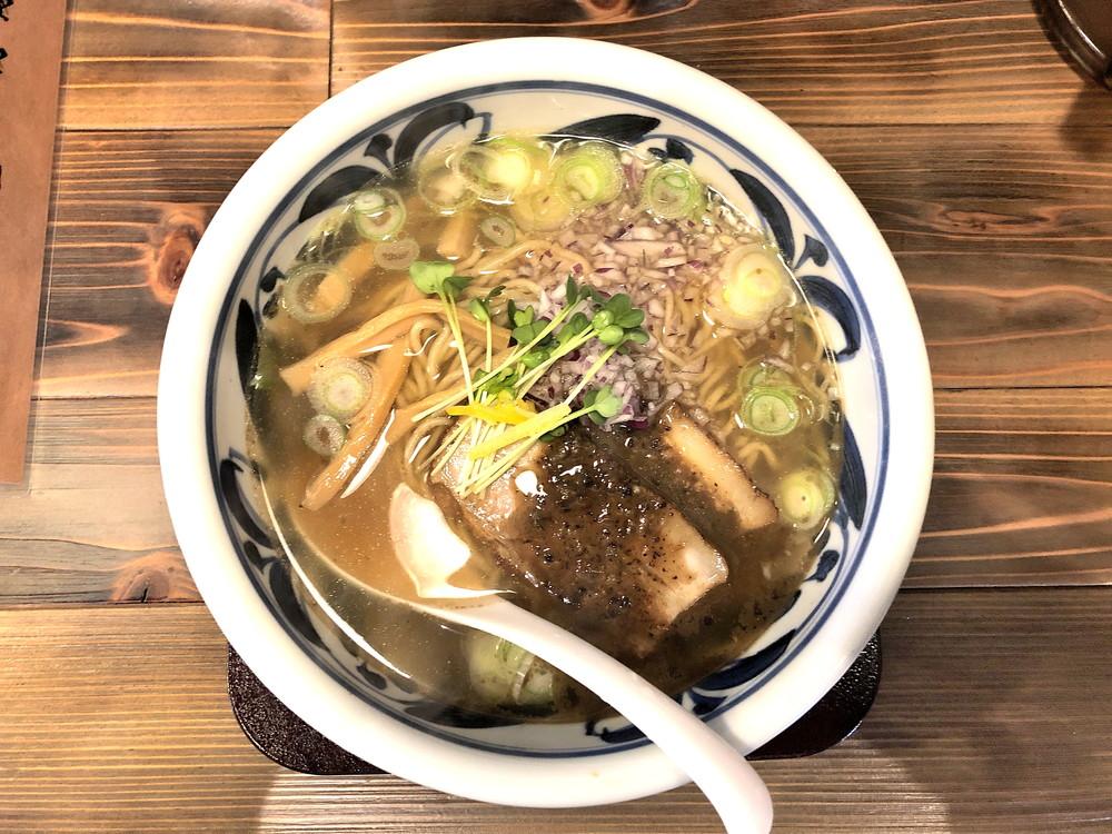 【ラーメン新店】安部製麺所(山形市あさひ町)|数種類の煮干しを焼き上げた絶品スープープが絶品!