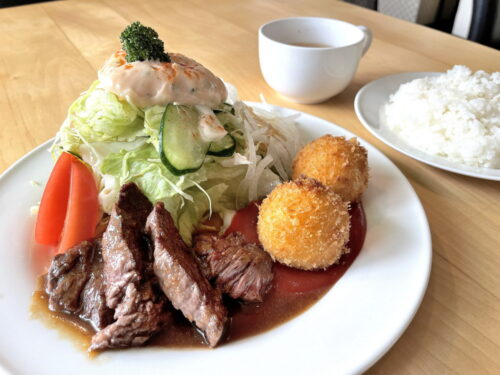 【食レポ】キッチンリーフ(山形市旅籠町)|経験豊富なオーナーが営む街の洋食店