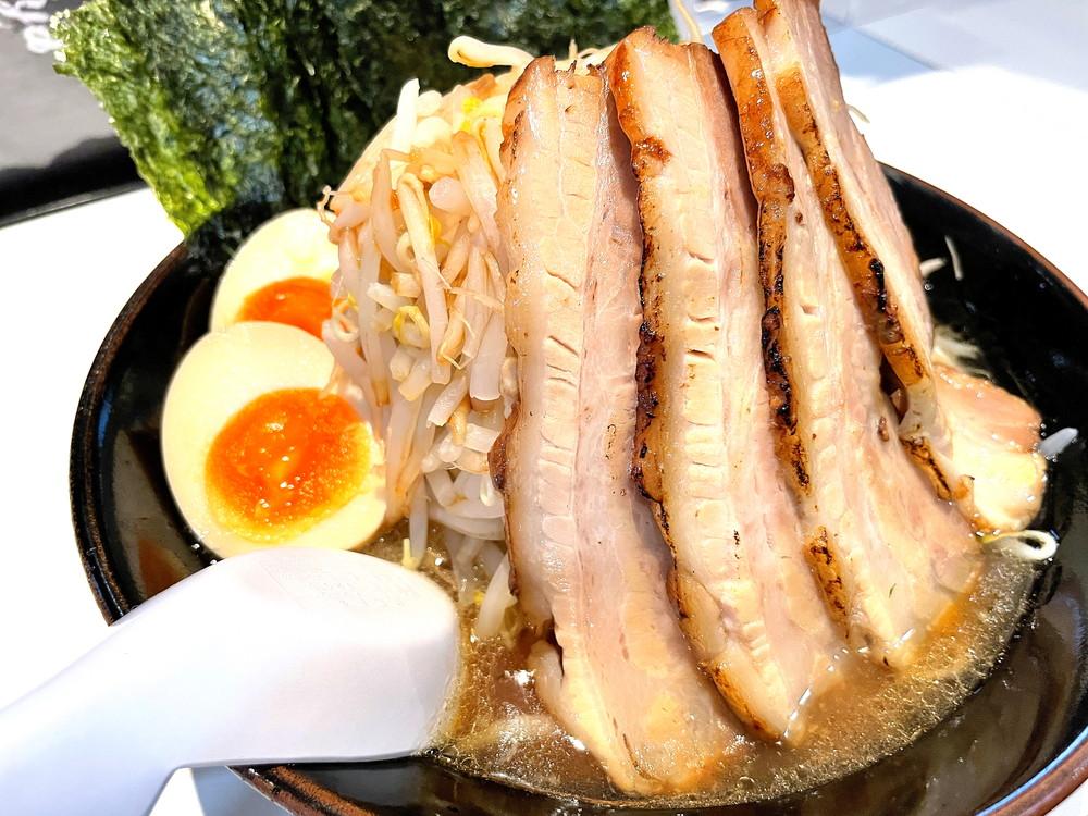 厚横浜家系ラーメンのじ家-食レポ7