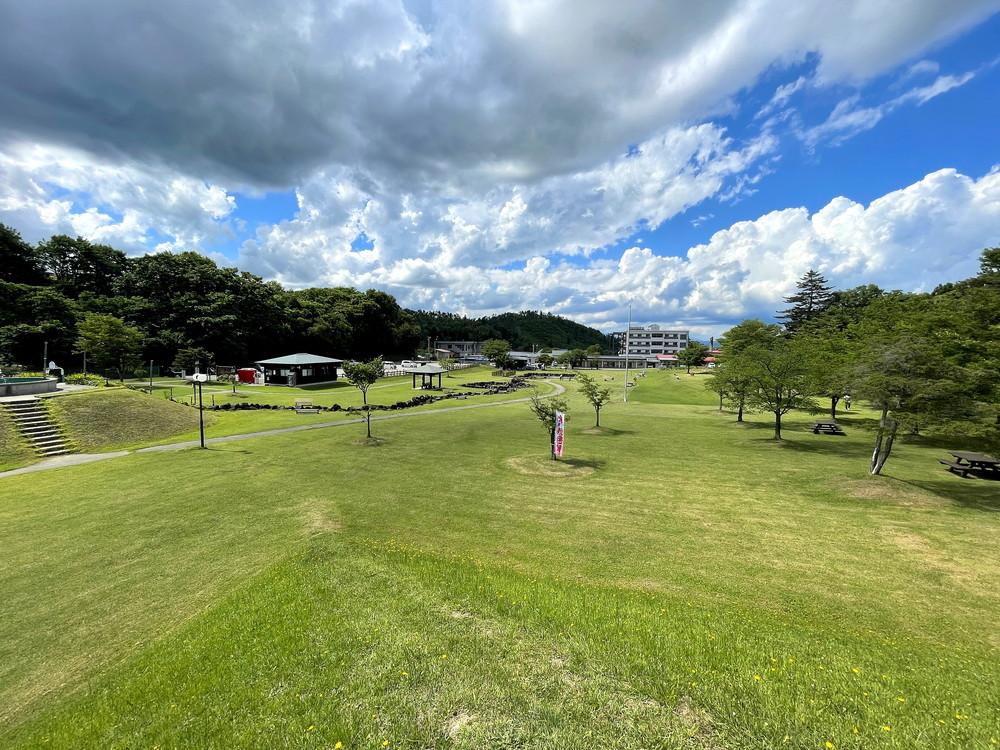 【公園レポ】成島ワクワクランド(米沢市広幡町成島) 置賜地方に魅力が詰まった公園がありました