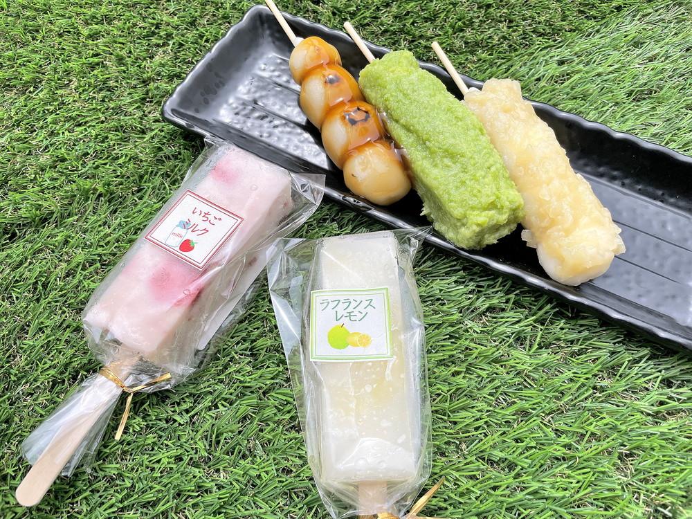 【食レポ】かすり家本店(山形市飯塚) 人気和菓子店で団子とアイスバーを購入