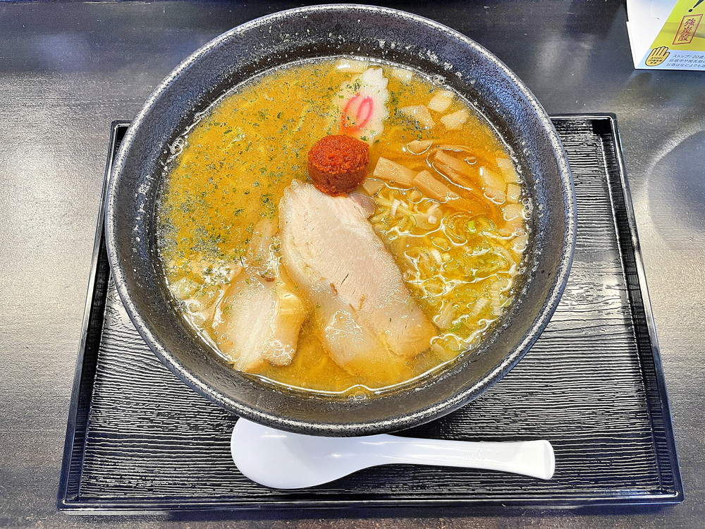【山形ラーメン新店レポ】麺屋林商店(山形市小立) 濃厚煮干しとだしと動物系のWスープが自慢の一杯