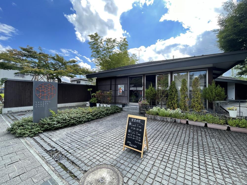 天童壮ガーデンカフェ-外観